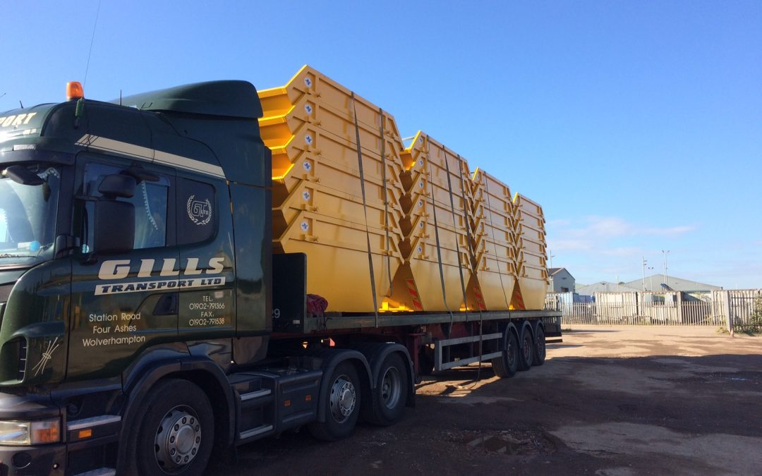 New skips purchased as demand soars