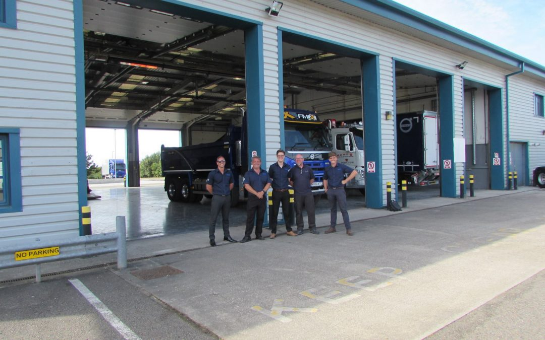 New Volvo Depot Opening in Roche, Cornwall