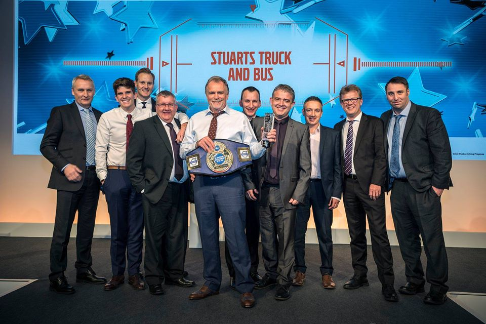 Stuarts are Volvo Truck Dealer of the Year 2018