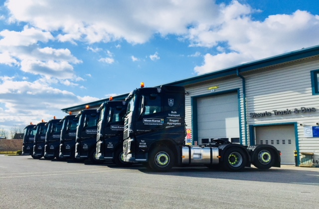 Stuarts Volvo: New Vehicles for Maen Karne