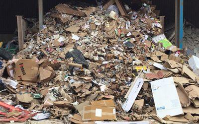 Waste management services in Devon