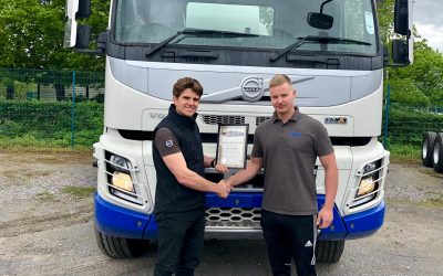 Congratulations Ian – Another successful Volvo apprenticeship completed at Stuarts Truck and Bus Exeter
